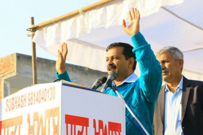 Kejriwal assures Punjab: CM face won't be 'outsider'