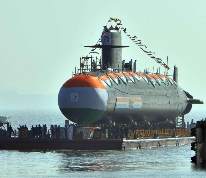 Govt initiates process to build 6 'Make In India' subs