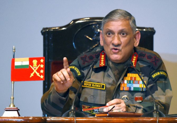 India News - Latest World & Political News - Current News Headlines in India - Politicisation of military taking place, best avoided: Gen Rawat