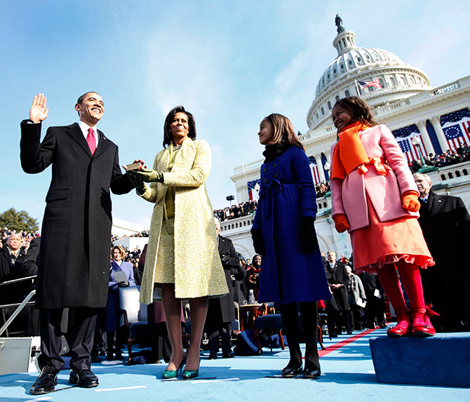 India News - Latest World & Political News - Current News Headlines in India - From Lincoln to Obama: A look at inaugurations past