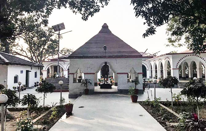The ashram will celebrate 100 years in April