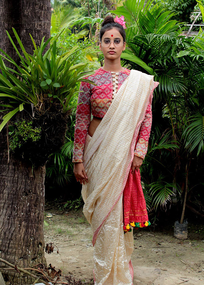 Latest News from India - Get Ahead - Careers, Health and Fitness, Personal Finance Headlines - 'My clothes are inspired by the sari'