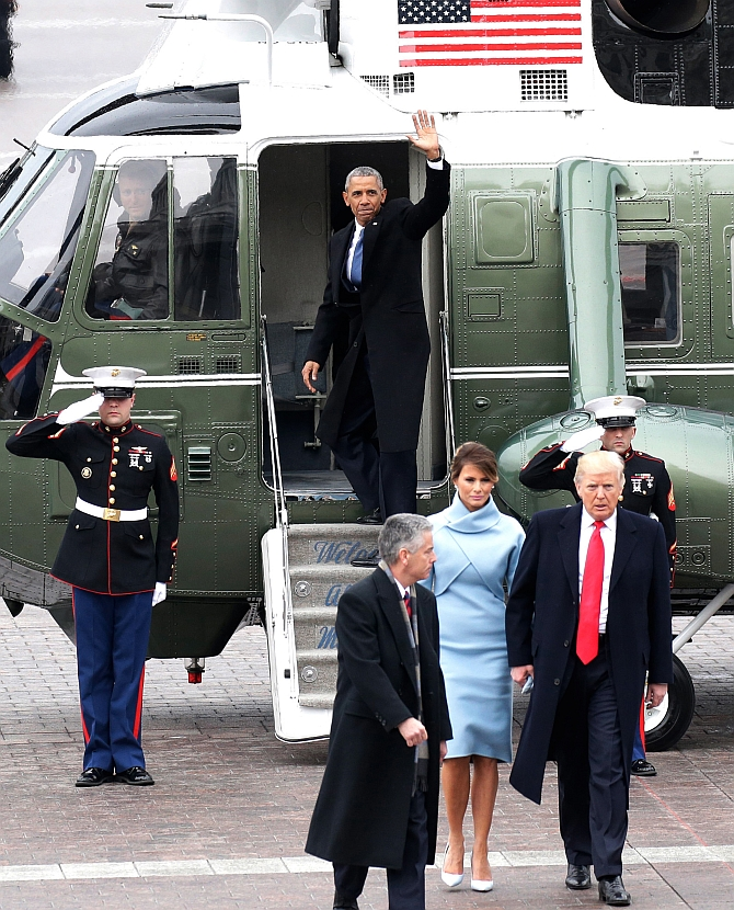 India News - Latest World & Political News - Current News Headlines in India - You proved the power of hope, says Obama before flying off from Washington