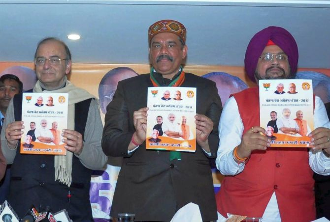 India News - Latest World & Political News - Current News Headlines in India - BJP manifesto promises land to Dalits, houses to poor in Punjab