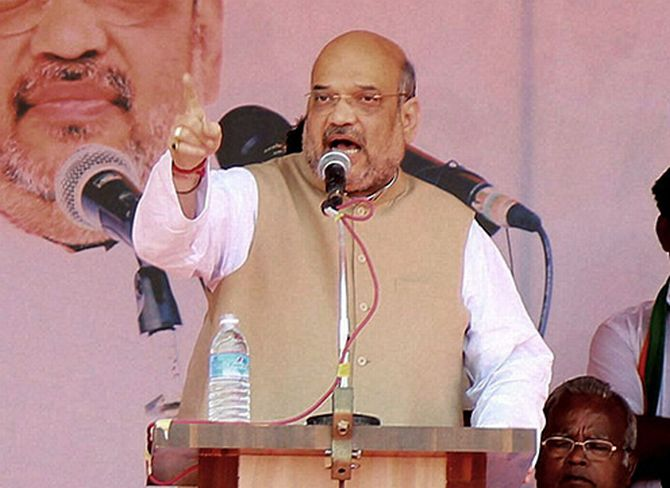 Next Goa government will be under Parrikar's leadership: Shah