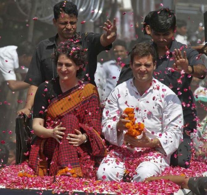 Priyanka figures in Cong's list of star campaigners for UP