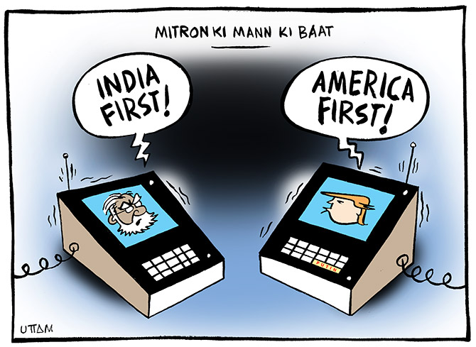 Modi-Trump India-US ties