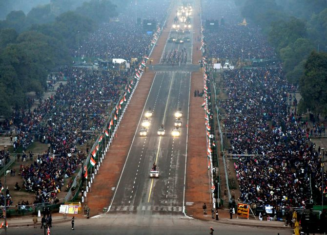 India News - Latest World & Political News - Current News Headlines in India - PHOTOS: India displays its military might, vibrant culture on R-Day