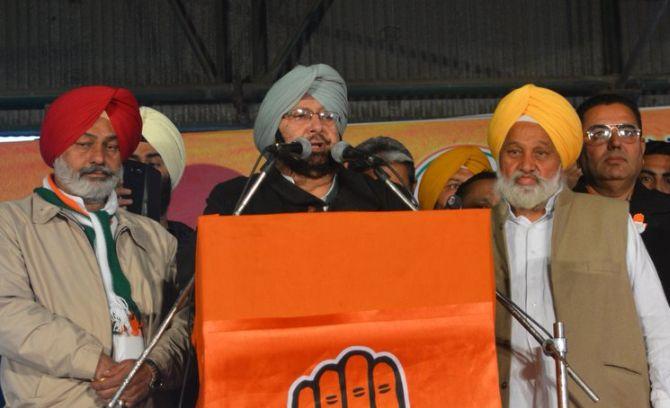 'Fascist' AAP will turn Punjab into Kashmir: Amarinder