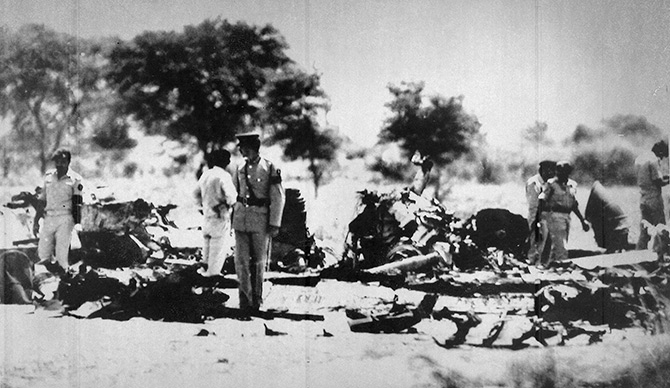 The site of Zia-ul Haq's plane crash
