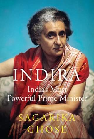 The cover of Sagarika Ghose's book