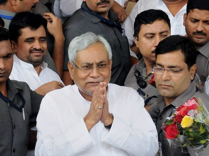 What Nitish Did Is An Act Of Extreme Courage Rediff Com India News