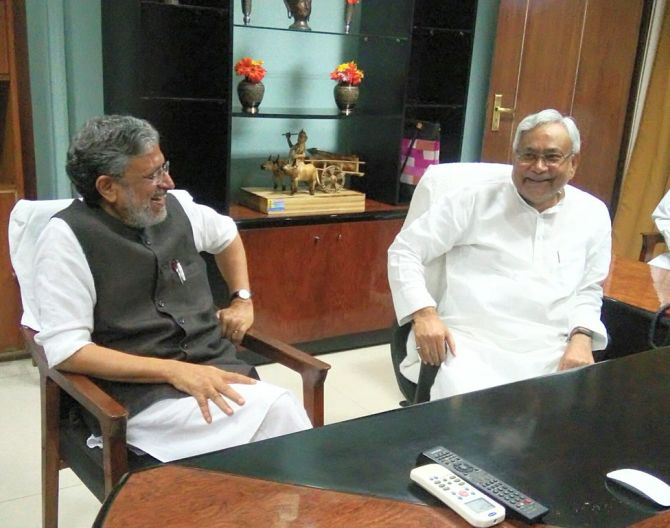 India News - Latest World & Political News - Current News Headlines in India - Nitish recommends CBI probe in scam which RJD alleged involves Sushil Modi
