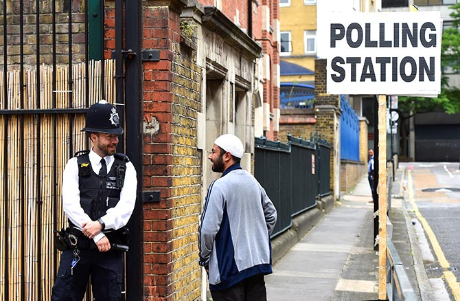 Polling Station Britain