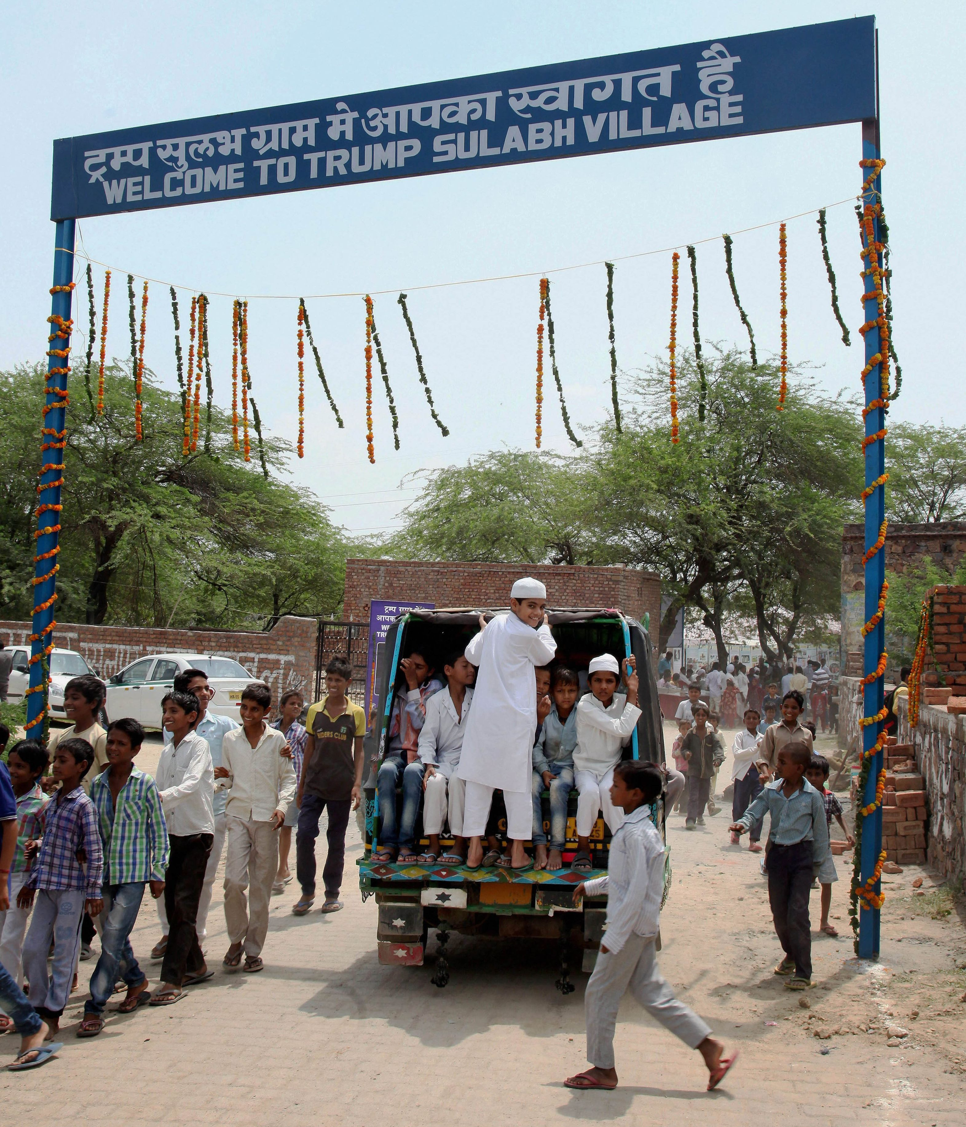 Village dedicated to Donald Trump in Haryana