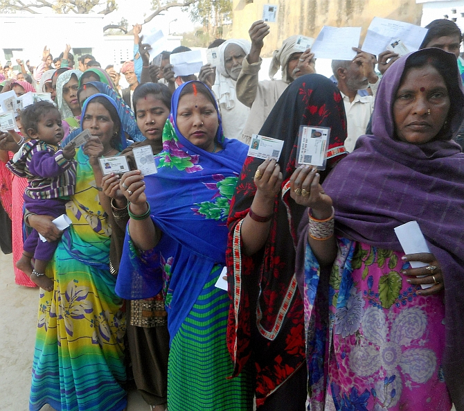 57.03% turnout in 6th phase of UP election