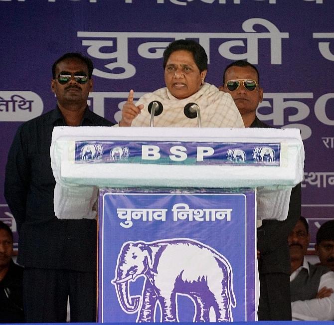 Offering prayers won't help; BSP will win: Mayawati