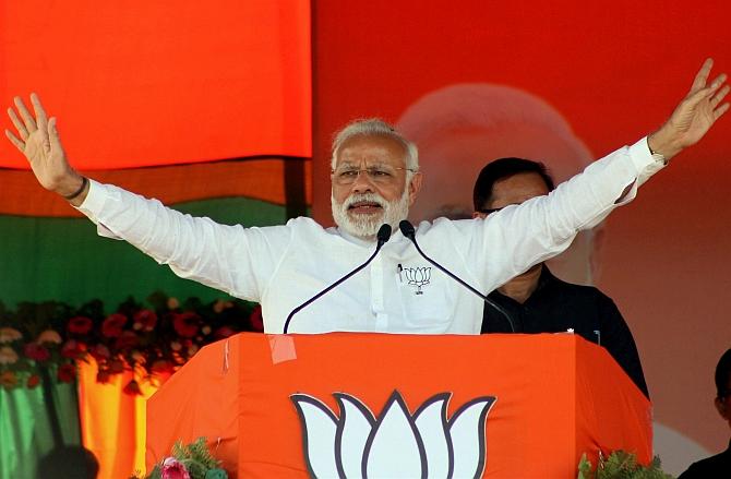 Modi uses 'Gayatri' mantra against SP