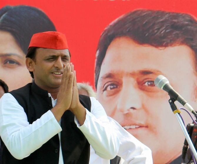 BJP writes to EC over Akhilesh 'bribery' remarks to voters