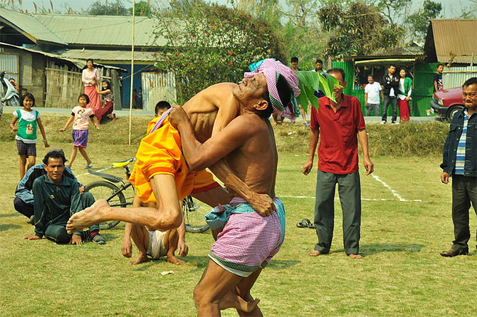 Holi festivities in Manipur