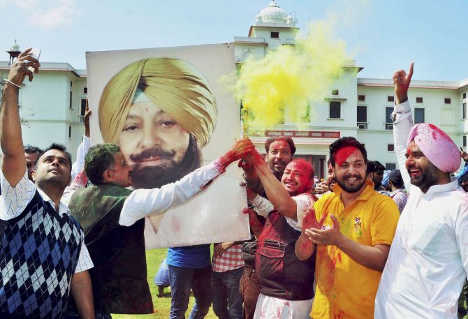 In Punjab, Congress gets 77 as Captain turns 75