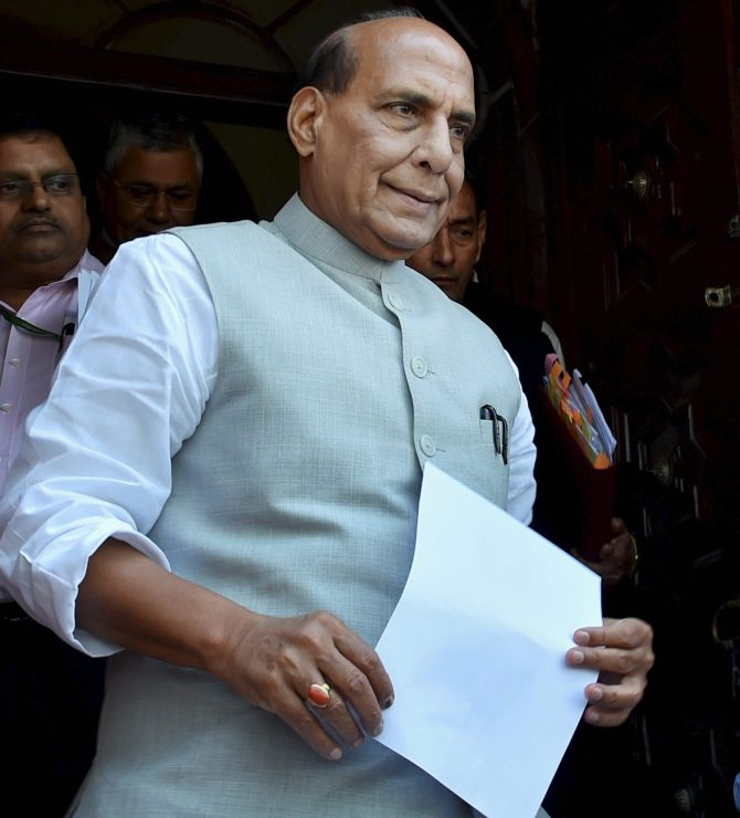 'What rubbish': Rajnath on reports of being in UP CM race