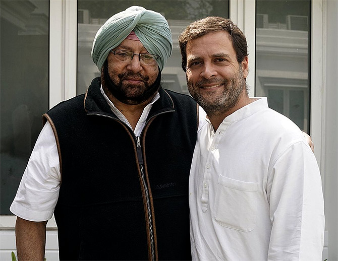 Rahul wants Amarinder to pass resolution in support of women's quota