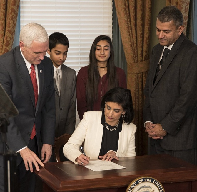 This Indian-American will be in-charge of remaking US health care policy