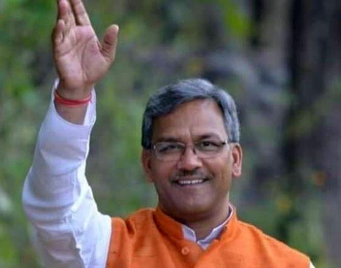 Trivendra Singh Rawat to be Uttarakhand CM