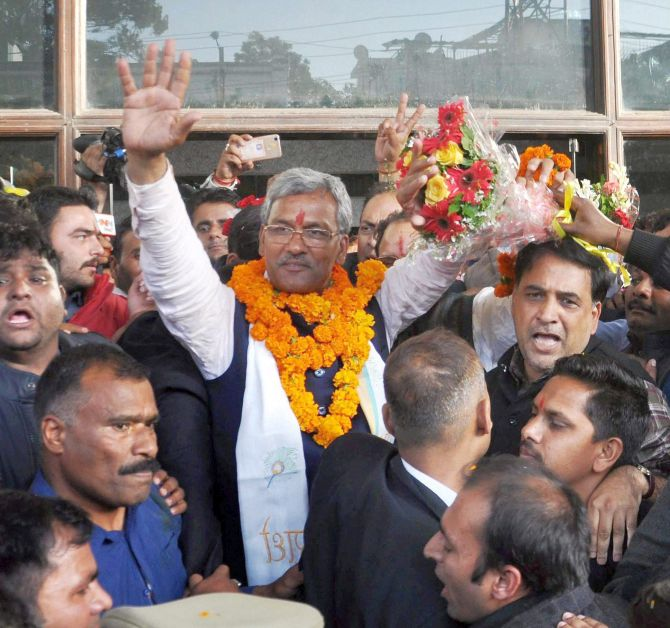 Trivendra Rawat: Once a RSS pracharak, now U'khand CM