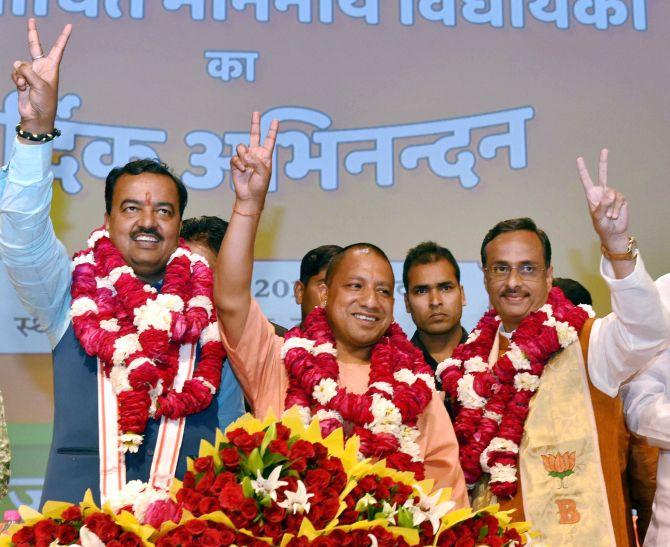 India News - Latest World & Political News - Current News Headlines in India - Meet Adityanath's deputies