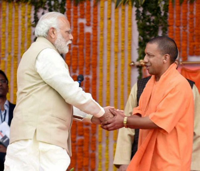 If the PM can't control the CM, the RSS will' - Rediff com India News