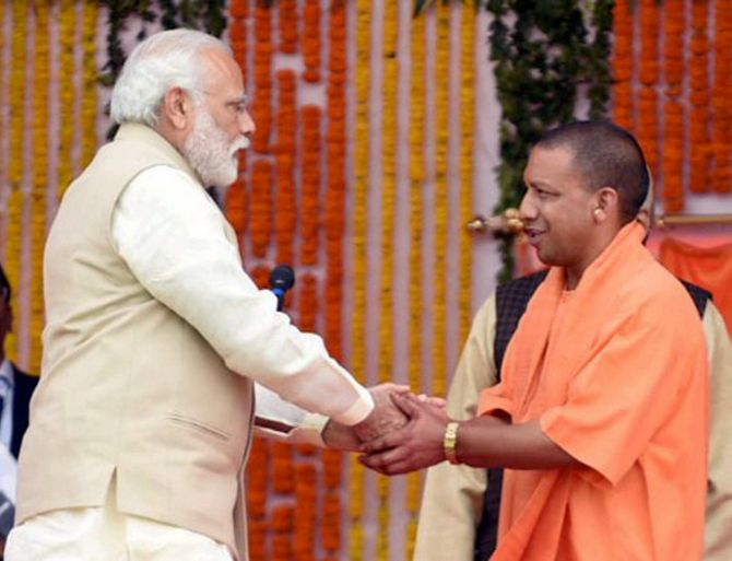 India News - Latest World & Political News - Current News Headlines in India - On Day 1 as UP CM, Yogi Adityanath says 'will work for all sections'