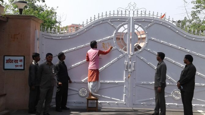 Puja, havan at UP CM's residence before Adityanath moves in