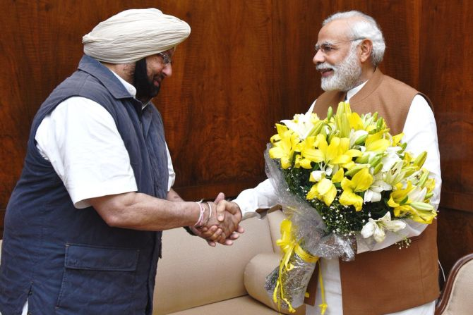 India News - Latest World & Political News - Current News Headlines in India - Amarinder seeks Modi's nod to sell electricity to Pak