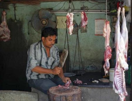 slaughterhouse in india