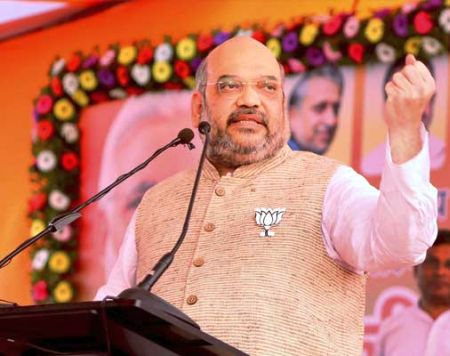India News - Latest World & Political News - Current News Headlines in India - Unfurl victory flag in Delhi too, Shah to BJP workers ahead of civic polls