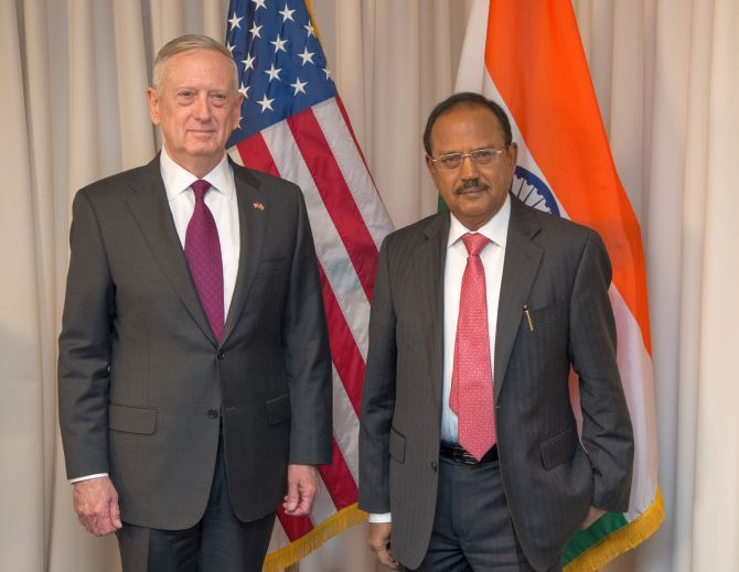 India News - Latest World & Political News - Current News Headlines in India - NSA Doval, US Defense Secy vow to boost Indo-US security ties