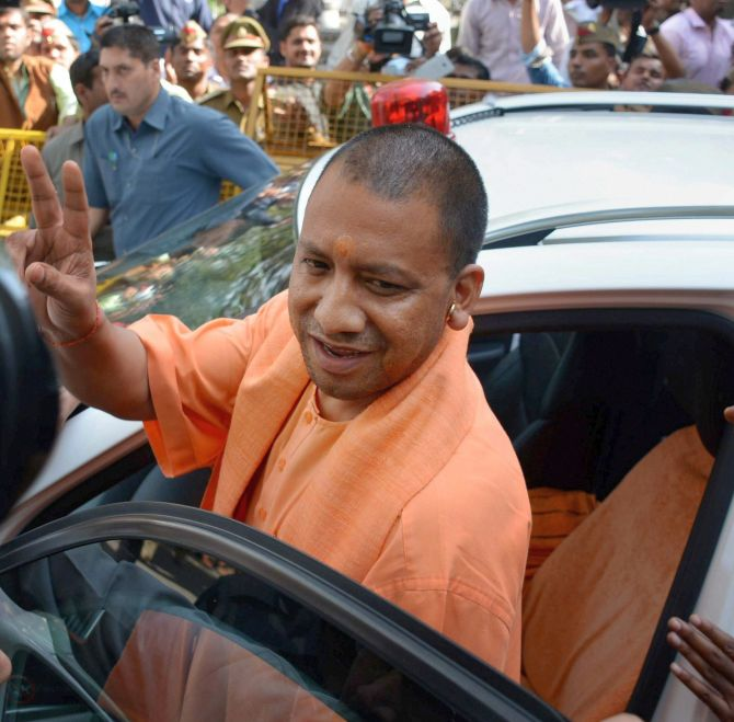 Yogi Adityanath record spending on festival!
