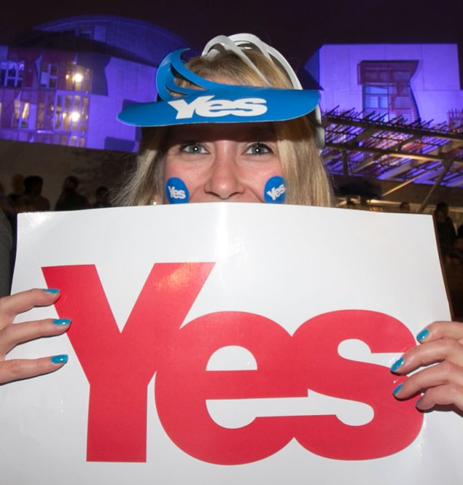 India News - Latest World & Political News - Current News Headlines in India - Scotland's lawmakers back new independence referendum
