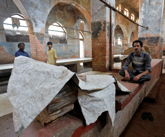 India News - Latest World & Political News - Current News Headlines in India - PHOTOS: Inside the abandoned meat markets in UP