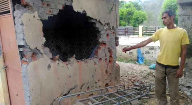 Lady killed as Pak targets civilian areas alongside LoC