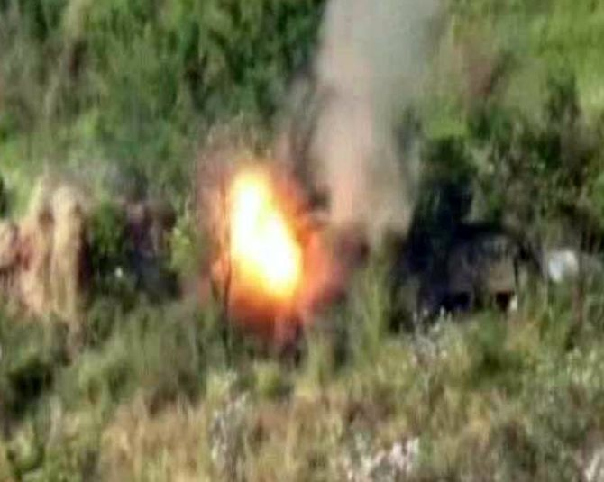 India News - Latest World & Political News - Current News Headlines in India - Army destroys Pak posts along LoC, releases video of 'punitive assaults'