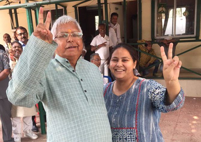 India News - Latest World & Political News - Current News Headlines in India - I-T summons Lalu's daughter and husband in benami land case