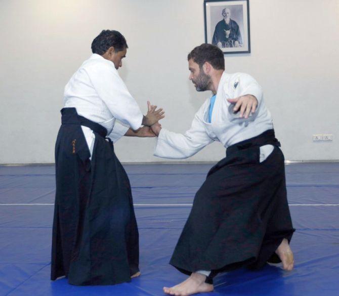 Image result for rahul black belt pictures