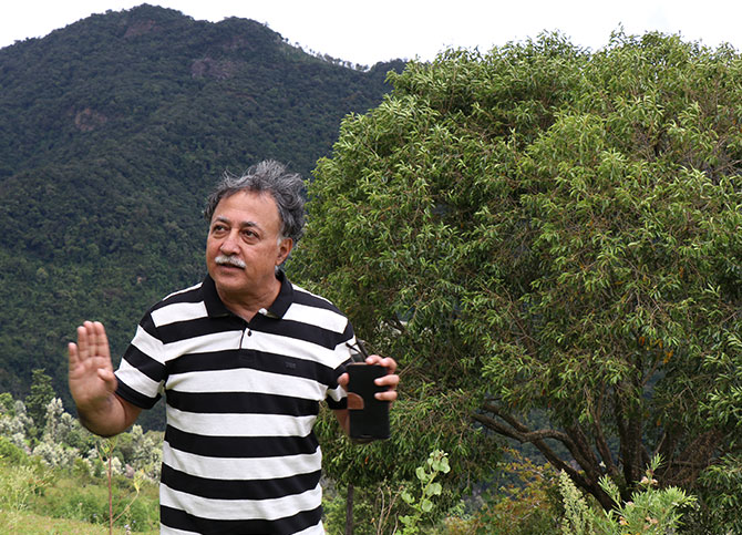 Mansoor Khan at his Farmstay