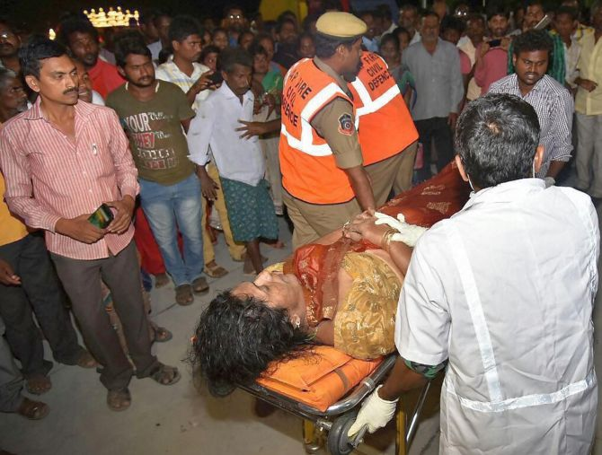 India News - Latest World & Political News - Current News Headlines in India - Death toll in Andhra boat tragedy rises to 21