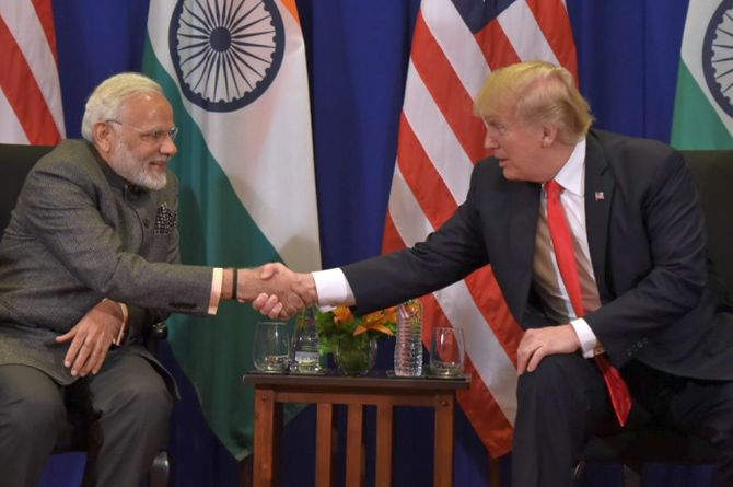 India News - Latest World & Political News - Current News Headlines in India - Indo-US relations can rise beyond bilateral ties: Modi to Trump