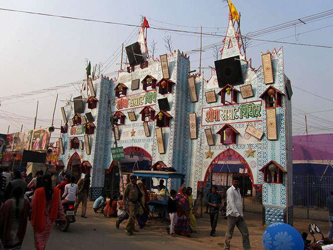 Sonepur Mela is famous for its theatres