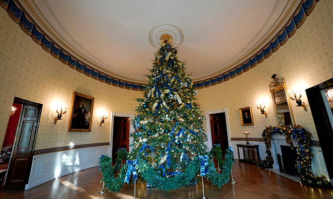 Melania 39 S White House Christmas Decorations Are Magical